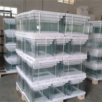 Ultra white glass fish tank