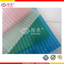 Yuemei 100% virgin material lexan Polycarbonate roofing sheet