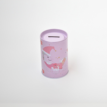 Quality Chinese products tin gift box coin tin box can removable lid money tin box with hole