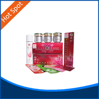 8014-5set-Yiqi Beauty whitening 2+1effective in 7 days(red) NEW