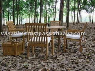 Java Stacking Chair - Outdoor Teak Furniture