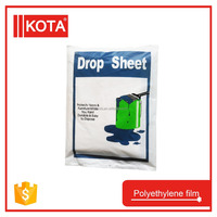 Drop Sheet PE PVC Cover Film Plastic Drop Sheet