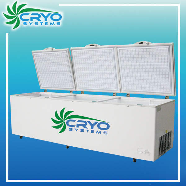 1700l largest cryo branded name chest style type freezer/horizontal freezer refrigerator fridge all retail selling
