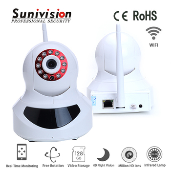 factory wholesales baby monitors 720p H.264 robot network wireless ip camera robot camera