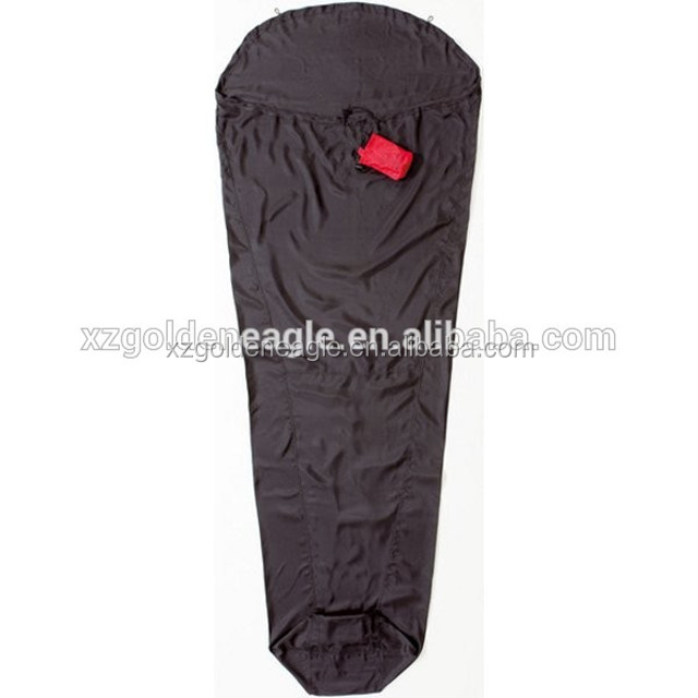 Traveling Blue 100% Silk Sleeping Bag