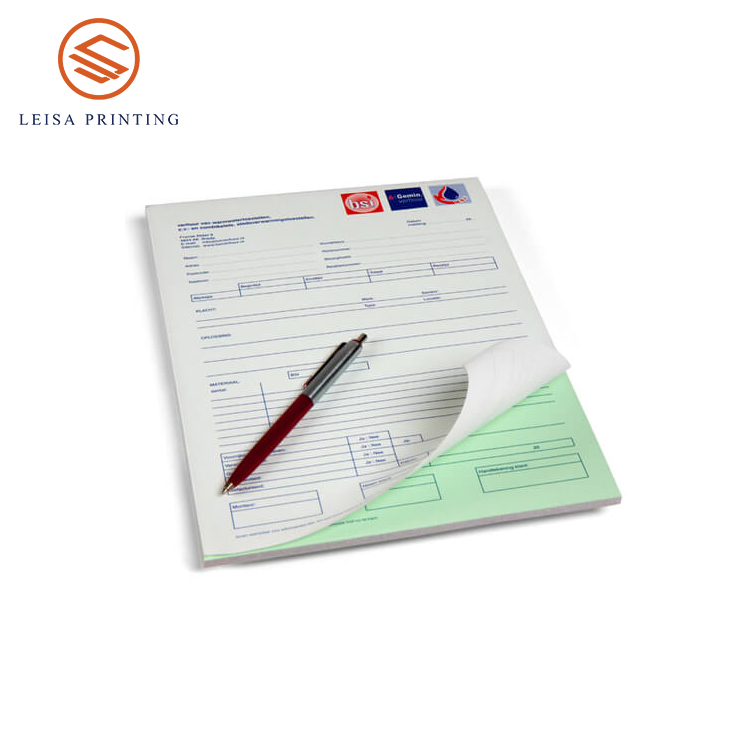 A5 customized restaurant invoice carbonless bill <strong>book</strong>