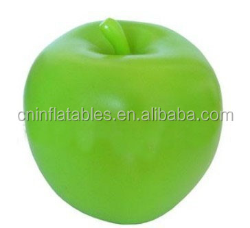 Hot sale giant inflatable green apple for advertising