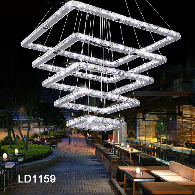 Factory Outlet Most Popular Modern Luxury Crystal Chandelier Light