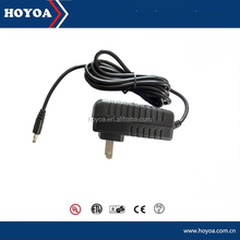 Wall mounted adapter 24v powerline adapter with CE ROHS REACH FCC ERP CB GS TUV CCC PSE approval
