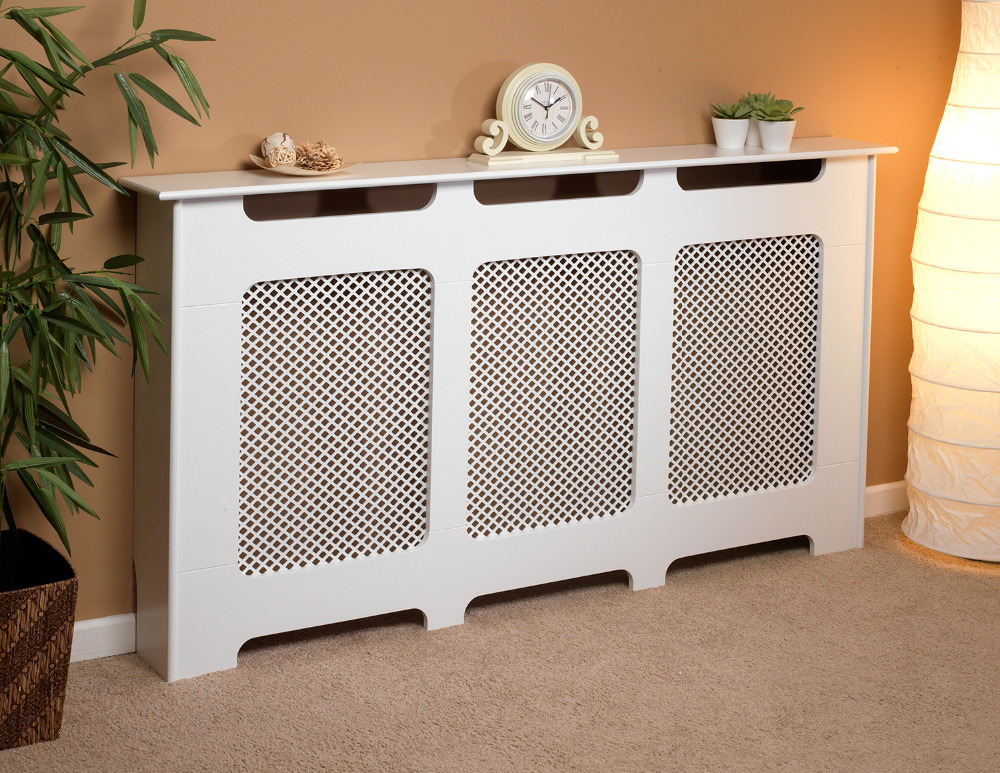 Beldray Large White Radiator Cover