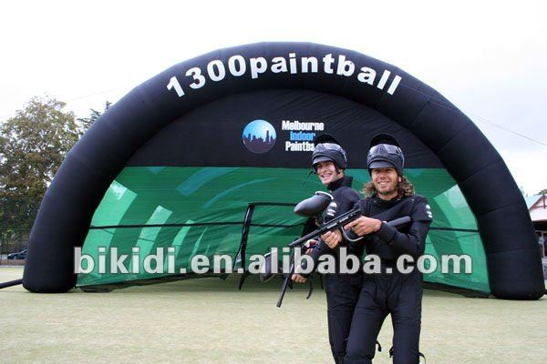 Paintball, Paintball Equipments