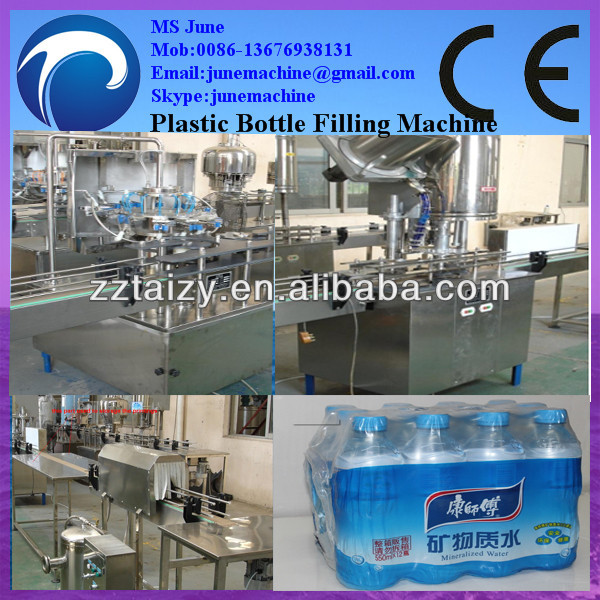 small bottle filling machine/bottle washing filling capping machine/small mineral water plant price 0086-13676938131