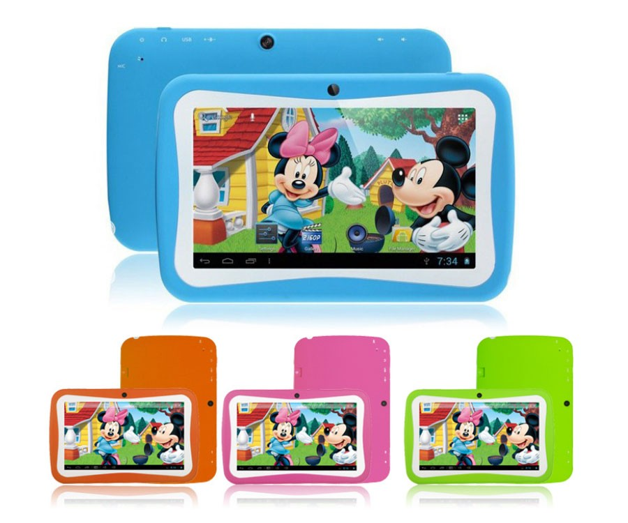 The latest fashionable children's four nuclear 7 inch android 5.1 tablet pc