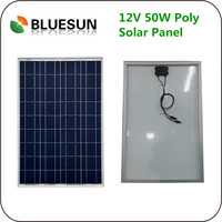 Outdoors usd 12v 12volt poly 50w solar panel holder 50wp solar module