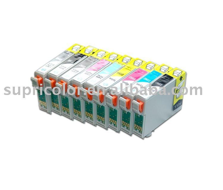 Compatible Ink Cartridge for Epson (T0591--T0599)