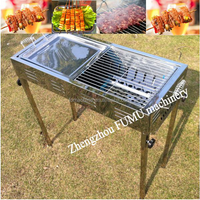 hot selling gas grill barbecue chickens