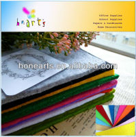Self-adhesive stiff color felt sheets 160gsm/180gsm/300gsm