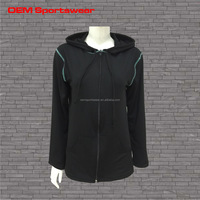 cover Stitch cheap blank track jackets women