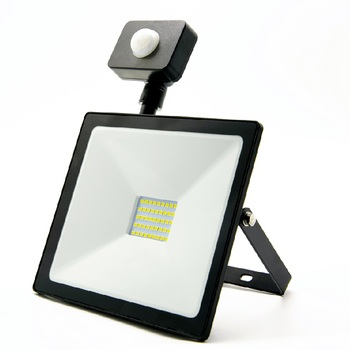 Civil Using CE Rohs IP44  Motion Sensor  Flood light 10W 20w 30w 50w 70w PIR LED Floodlight