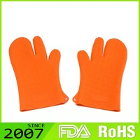 Rohs Certified Brand New Design Make To Order Foldable Silicone Oven Gloves Price