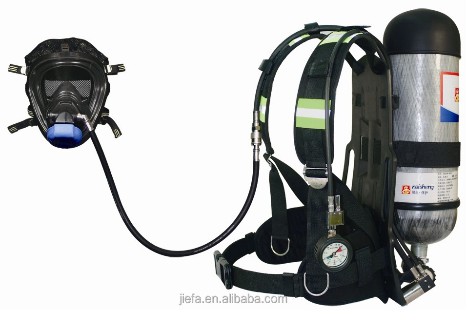 Self contained breathing apparatus with a cheap price
