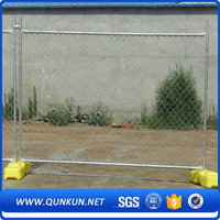 50mm diamond mesh chain link fence temporary metal fence fence factory
