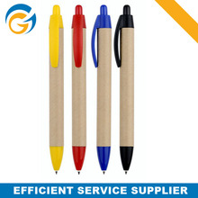 Eco Friendly Paper Barrel Promotion Ball Pen