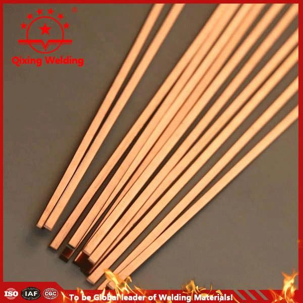 400-500mm Silver Phos Copper brazing alloys welding rod round / strip / square