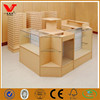 Top quality clothes shop counter table design equipment/shop fittings display fixtures