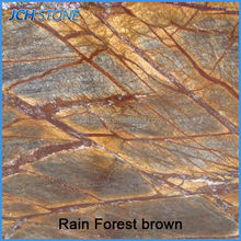 Rain forest brown marble decoration for sale