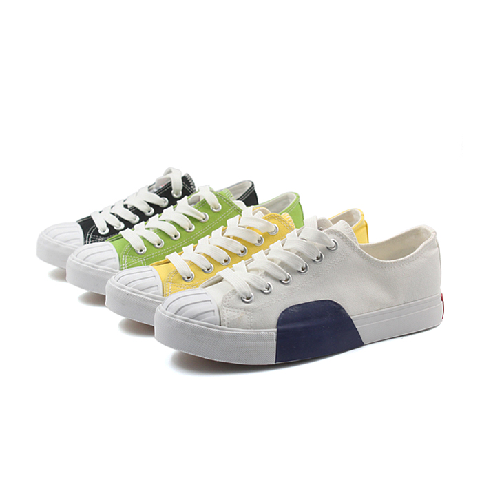 ladies white canvas shoes , women flat white sneaker shoes