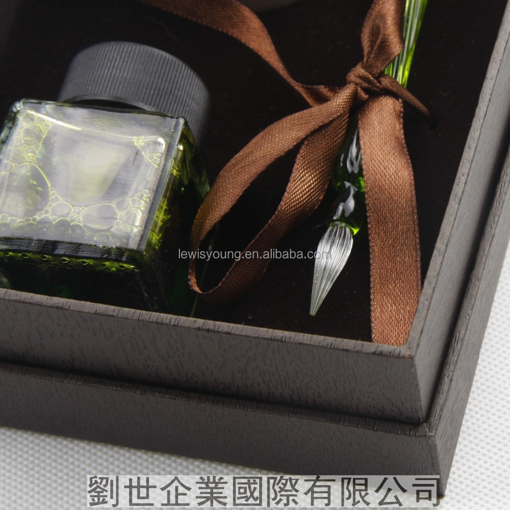 Unique Products 2017 Calligraphy Set Glass With Good Quality