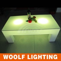 LED rectangle 6/4 seaters dining tables