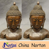 outdoor decoration large metal buddha head sculpture NTBH-S0677S