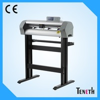 Teneth 740mm High Precision Servo Motor Cutting Plotter Can Cut Diamond Reflective Film With Real USB Driver