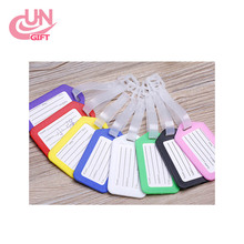 Hight Quality Promotion Cheap Colorful PP Plastic Luggage Tag For Traveling