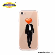 Print Phone Case Clear Tpu Blank Mobile Phone Accessories For Iphone 7