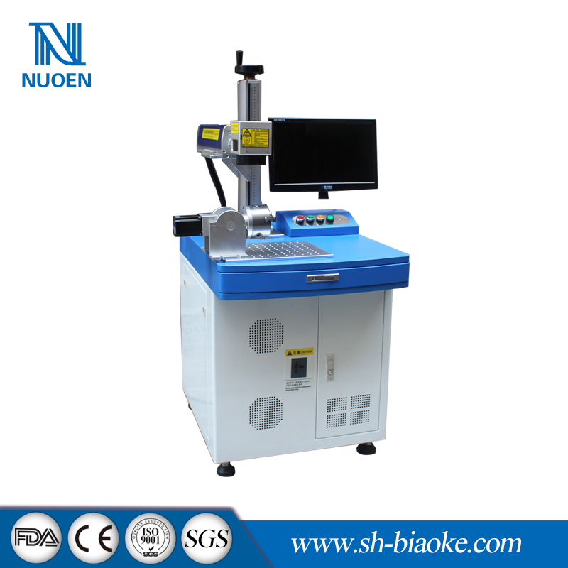 20w fiber laser color wire marking machine