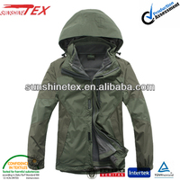 Wholesale waterproof windproof winter jacket garment