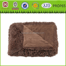 Brown Super Plush Shaggy Oversized Throw