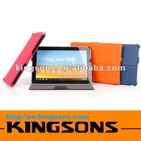 new arrival! 2012 hot-selling high-grade pu leather 10.1 tablet case