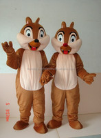 Hot sale 2015 animal squirrel mascot costume for adults