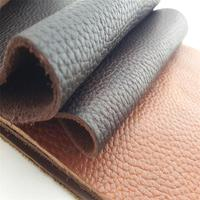Full grain genuine leather upholstery fabric leather