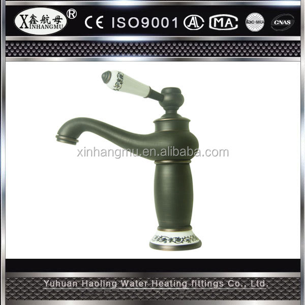 Classic Black Faucet Waterfall Mixers Brass Bathroom Sanitary Ware Promotional Basin Faucet
