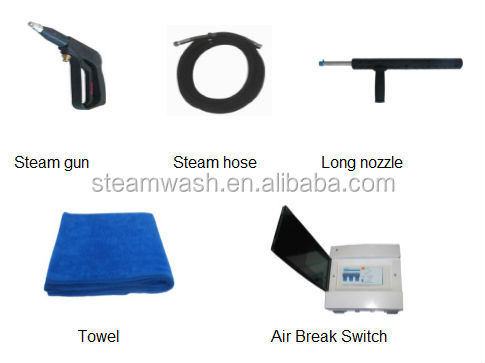 PP Material Steam Car Wash