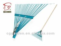 24 tine steel rake with handle RK24-105