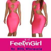 wholesale 2014 women sexy bandage dress celebrity