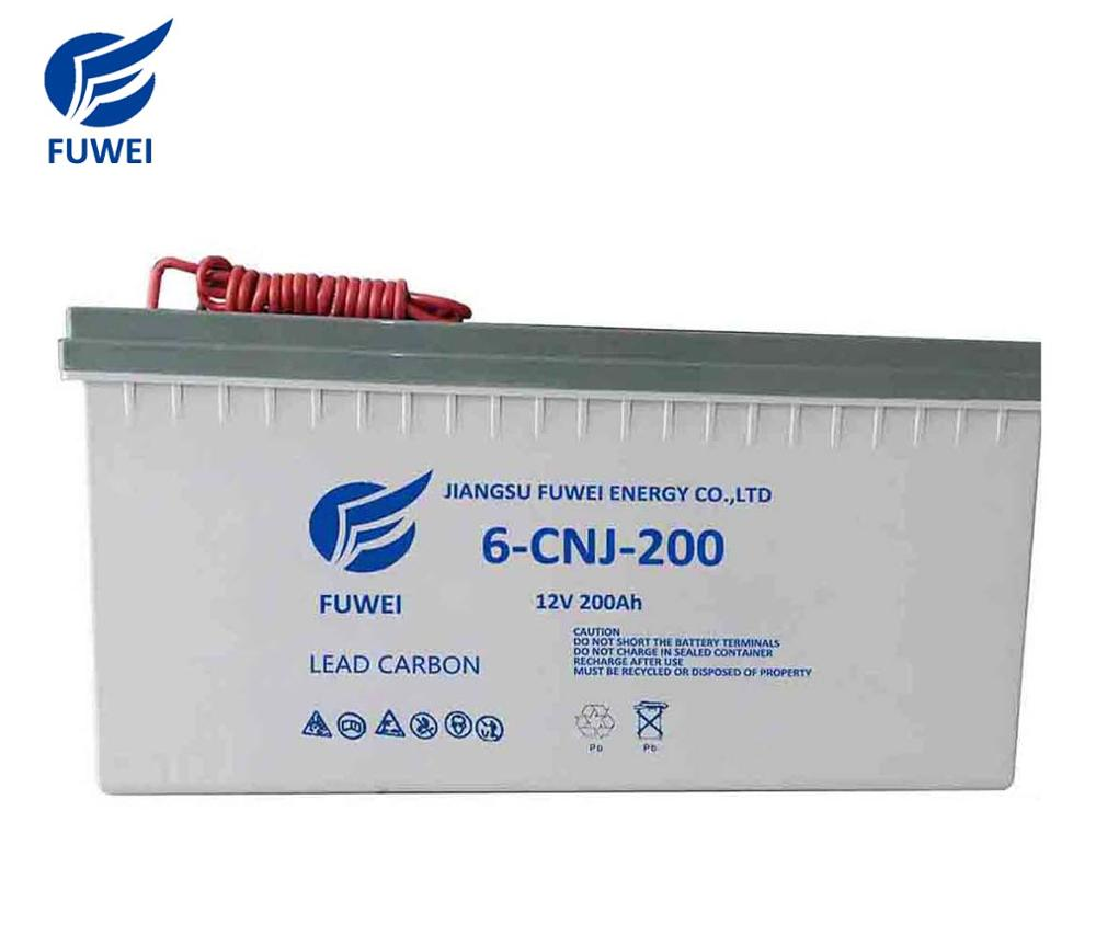 12v 200 amp hour agm deep cycle gel battery 12 volt 200ah long life battery price