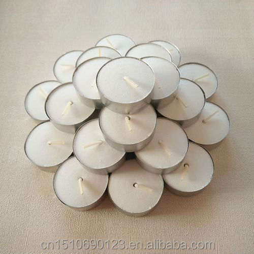 long burning time large size tealight candles pure palm wax 100%