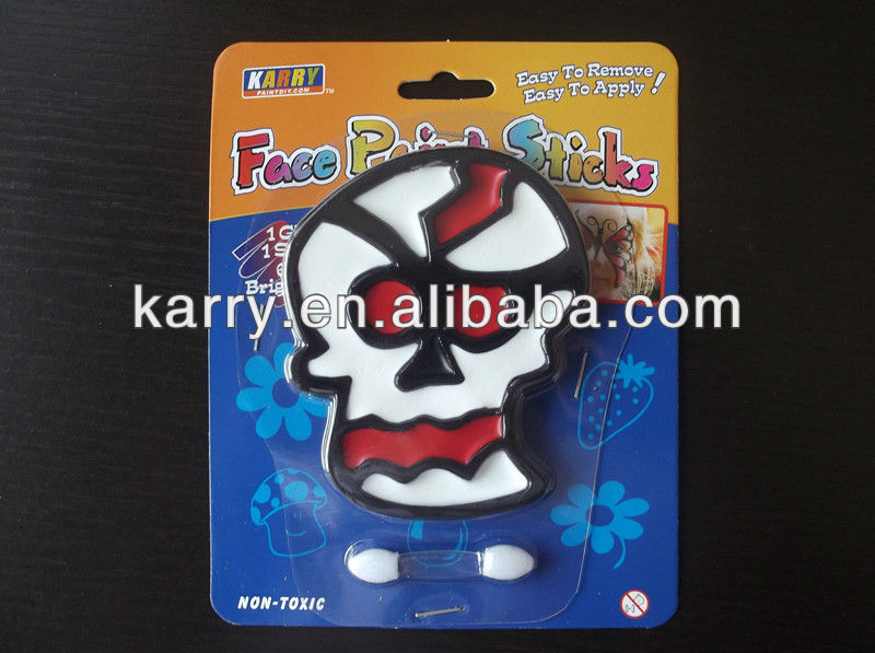 The Master Licensee of Disney:Facepaint on body for Halloween